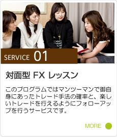 SERVICE 01 | 対面型 FX レッスン